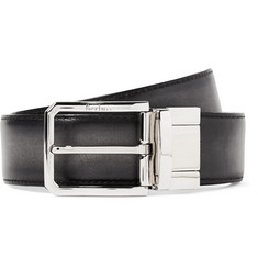 Berluti - 3.5cm Scritto Reversible Leather Belt