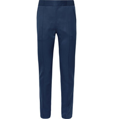 Berluti Blue Slim-Fit Wool-Twill Trousers