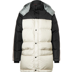 Gucci - Webbing-Trimmed Quilted Shell Hooded Down Jacket