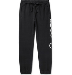 Gucci - Tapered Logo-Print Loopback Cotton-Jersey Sweatpants