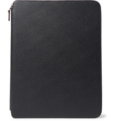 Smythson - Panama A4 Cross-Grain Leather Zip-Around Portfolio