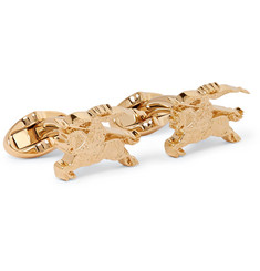 Burberry Gold-Tone Cufflinks