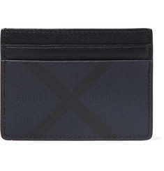 Burberry Printed Cross-Grain Cardholder