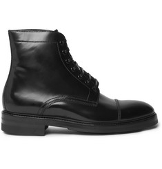 Paul Smith Master Polished-Leather Boots