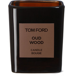 TOM FORD BEAUTY - Oud Wood Scented Candle, 200g