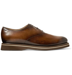 Berluti Alessio Padova Venezia Leather Oxford Shoes