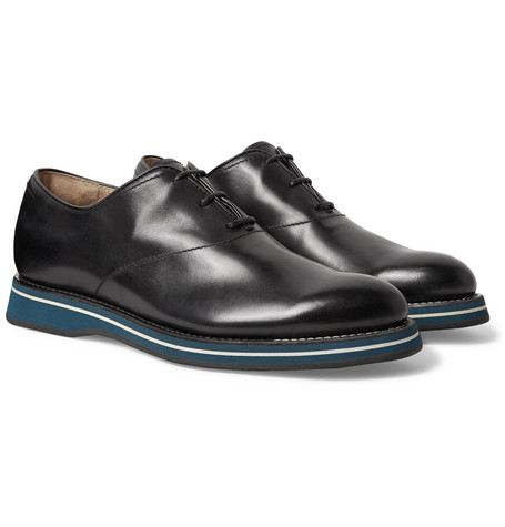 Berluti Oxfords ALESSIO PADOVA VENEZIA LEATHER OXFORD SHOES