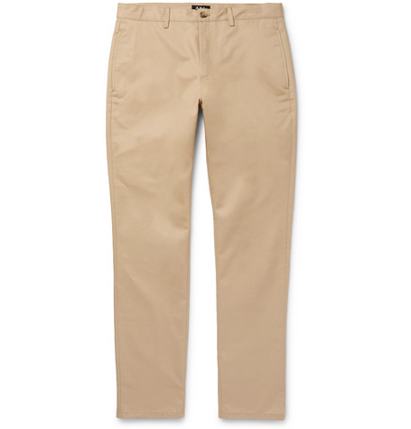 Classic Cotton Gabardine Chinos by A.P.C.