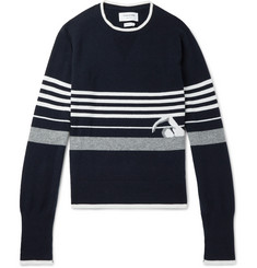Thom Browne Striped Intarsia Cashmere Sweater