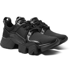 Givenchy - Jaw Neoprene, Suede, Leather and Mesh Sneakers