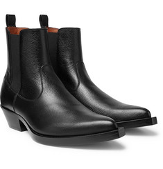 Givenchy - Texas Full-Grain Leather Chelsea Boots