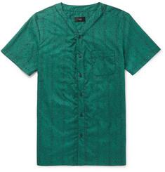 men\u0027s short sleeve shirts designer menswear mr porter  onia luca printed cotton shirt