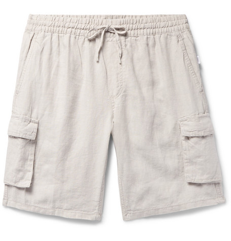 f4bf825988 Onia - Tom Wide-Leg Linen Cargo Shorts