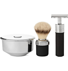 Marram Co - Chrome-Plated Safety Razor Shaving Set