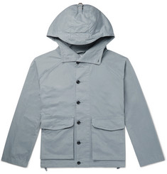 Albam Cotton-Twill Hooded Parka