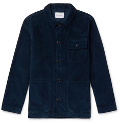 Albam Cord Board Cotton-Corduroy Chore Jacket