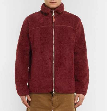 Fleece Zip Up Sweatshirt by Albam