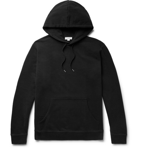 Loopback Cotton Jersey Hoodie by Sunspel