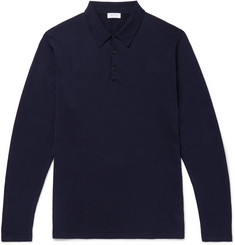 Sunspel Sea Island Cotton-Jersey Polo Shirt