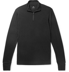 Sunspel Slim-Fit Merino Wool Half-Zip Sweater