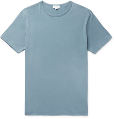 Sunspel Slim-Fit Pima Cotton-Jersey T-Shirt