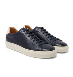 Hugo Boss - Mirage Full-Grain Leather Sneakers