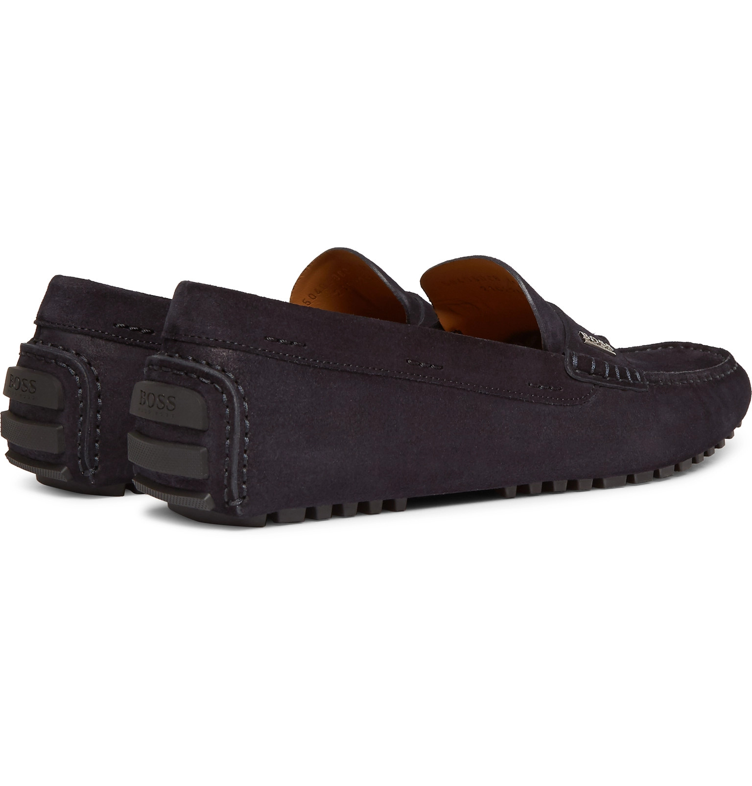 3dc0fdc547e Hugo Boss - Suede Driving Shoes