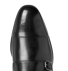 Hugo Boss - Stamford Leather Monk-Strap Shoes