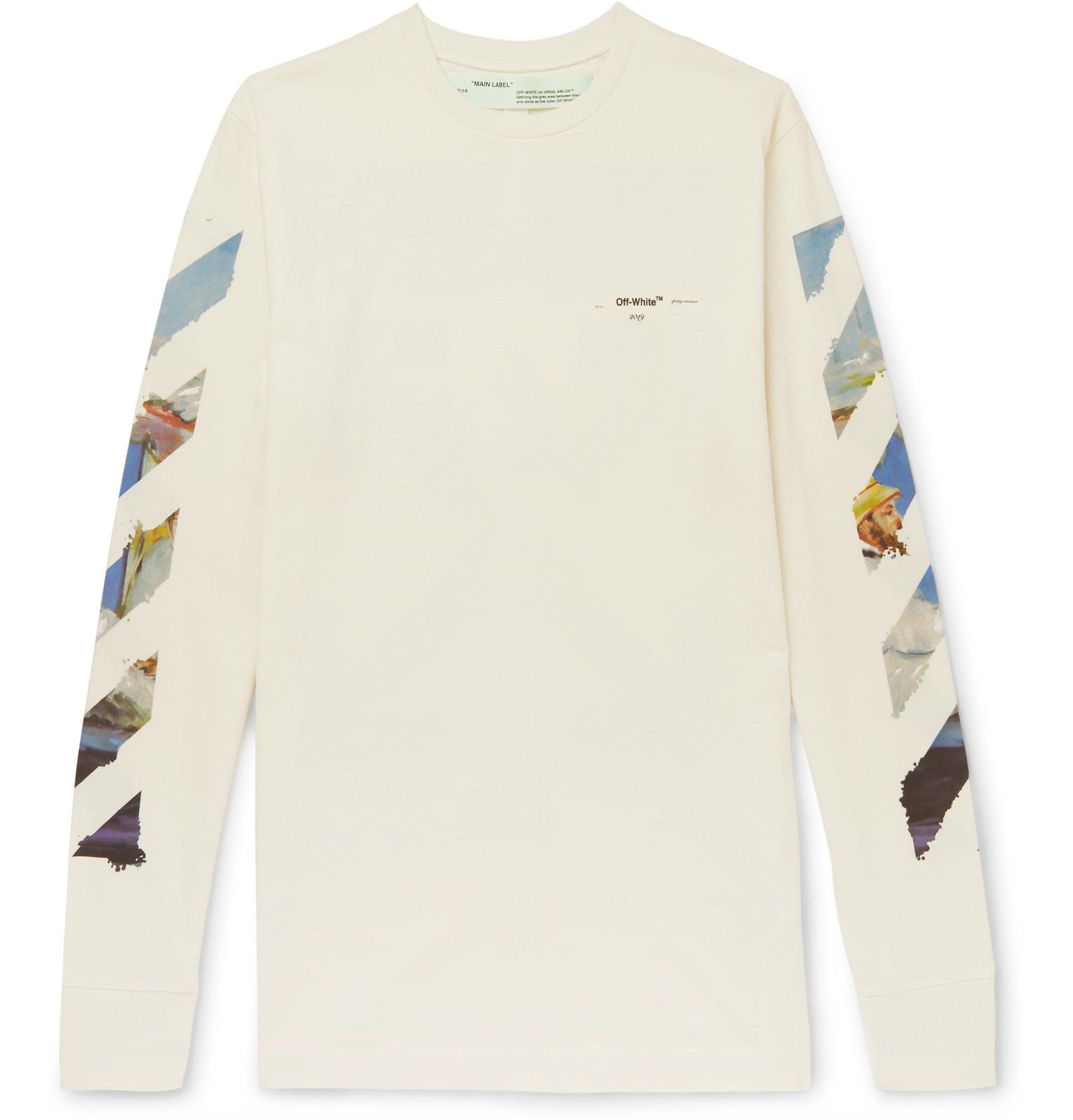 b32597f9f Off White Virgil Abloh Long Sleeve T Shirt - raveitsafe