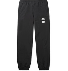 오프화이트 Off-White Tapered Shell Sweatpants,Black