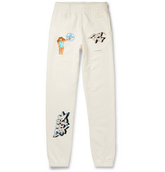Off-White Dondi Slim-Fit Printed Cotton-Jersey Sweatpants