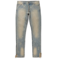 Rhude Skinny-Fit Distressed Denim Jeans