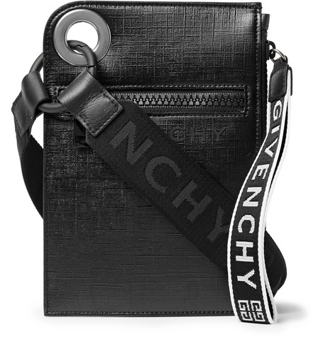 4bf5ded8e2 Givenchy - Jaw Textured Coated-Canvas Messenger Bag