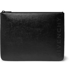 Givenchy Logo-Embossed Coated-Canvas Pouch