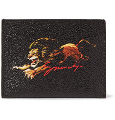 Givenchy Printed Textured Coated-Canvas Cardholder