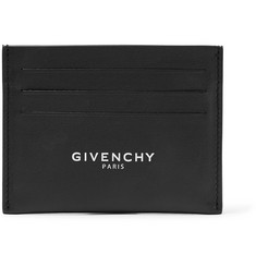 Givenchy - Logo-Print Leather Cardholder