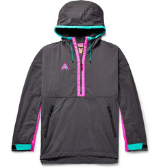 Nike ACG Colour-Block Nylon-Blend Ripstop and Shell Hooded Jacket