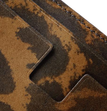 TOM FORD Bras Leopard-Print Nubuck Cardholder