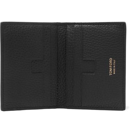9d1ff5671d TOM FORD - Full-Grain Leather Bifold Cardholder