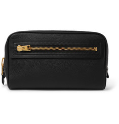 TOM FORD - Full-Grain Leather Wash Bag