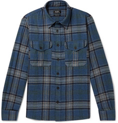 A.P.C. Breton Checked Flannel Shirt