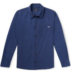 A.P.C. Atelier Cotton-Chambray Shirt