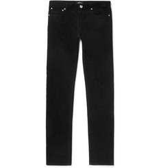 A.P.C. Slim-Fit Cotton-Corduroy Trousers