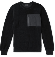 A.P.C. Club Fleece Sweatshirt