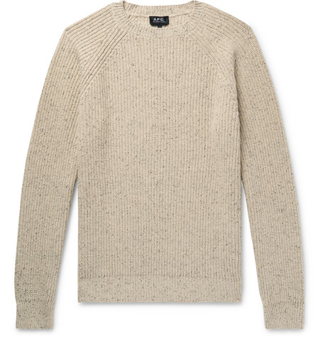 Ribbed Knitted Sweater by A.P.C.