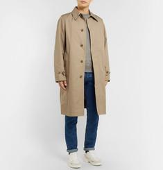 AMICotton-Twill Trench Coat