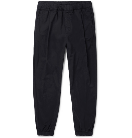 MCQ ALEXANDER MCQUEEN | McQ Alexander McQueen - Tapered Cotton Sweatpants - Black | Goxip