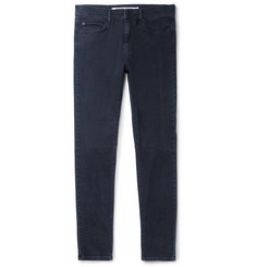 McQ Alexander McQueen Strummer Skinny-Fit Panelled Stretch-Denim Jeans
