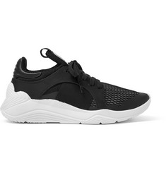 McQ Alexander McQueen Gishiki Leather-Trimmed Mesh Sneakers