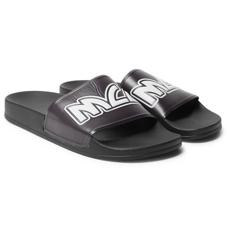 McQ Alexander McQueen – Logo-embossed Rubber Slides – Black · All Footwear 363ad0a5a3a